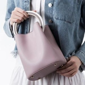 Gemma Luxury Vegan Leather Evening Bag